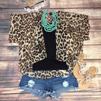 LOVELY LEOPARD SHRUG – LaRue Chic Boutique