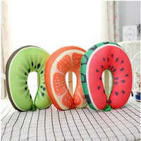 Fruits Travel Neck Protection Pillow