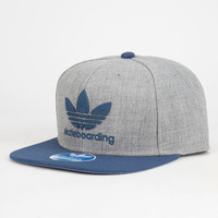 Adidas Skate Mens Snapback Hat Gray/Navy One Size For Men 25784397901