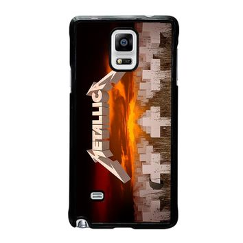 METALLICA MASTER OF PUPPETS Samsung Galaxy Note 4 Case Cover