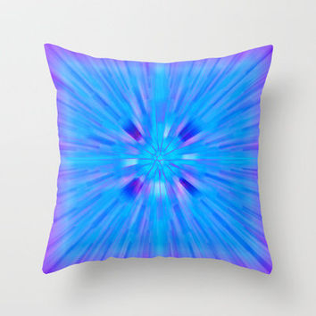 Cracked! Throw Pillow by Shawn Terry King | Society6