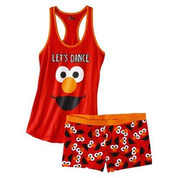 Target : Sesame Street® Junior's Tank & Short Sleep Set - Elmo