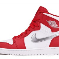 "AIR JORDAN 1 RETRO HIGH ""SILVER MEDAL"""