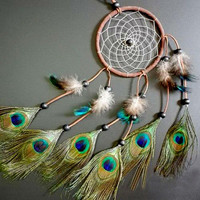 Dream Catcher with feathers wall or car hanging decoration ornament Room Decor adesivos para parede Dreamcatcher NVIE