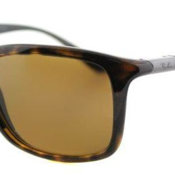 Kalete Ray-Ban RB 8352 622183 Havana Plastic Sport Sunglasses Brown Polarized Lens