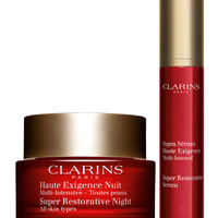 Limited Edition Super Restorative Anti-Aging Nighttime Duo - Clarins