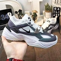Nike M2K Tekno Fashion Men Women Breathable Casual Sport Running Shoes Sneakers