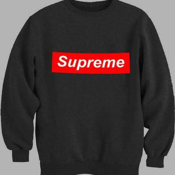 Supreme Logo Sweater for Mens Sweater and Womens Sweater ***