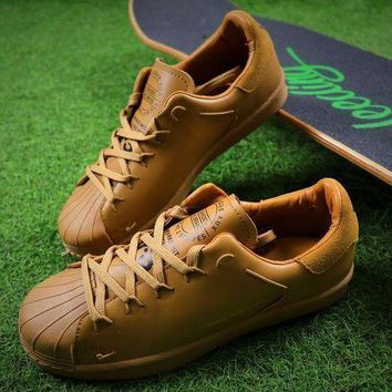 CREYNW6 Sale Adidas Y-3 Super Knot Superstar Wheat Sport Shoes AC7406 Sneaker