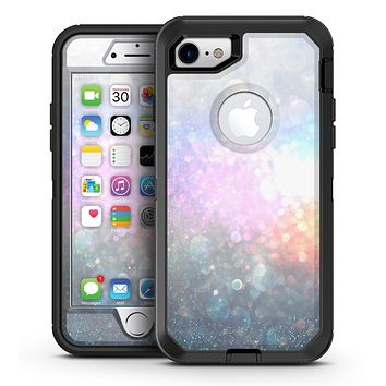 unfocused Multicolor Glowing Orbs of Light - iPhone 7 or 7 Plus OtterBox Defender Case Skin Decal Kit