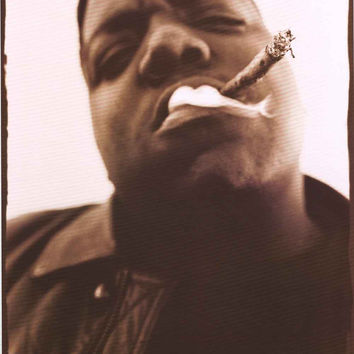 Notorious BIG Portrait Poster 24x36