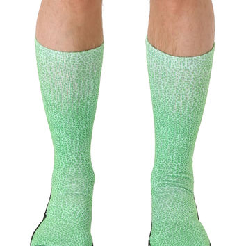 Pebble Green Sport Socks