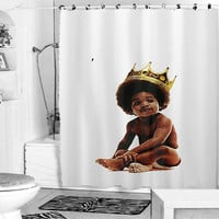 Big notorious notorious big biggie smalls shower curtain