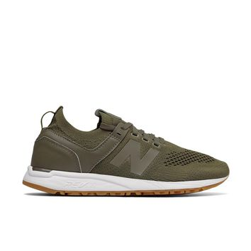 New Balance - Women's 247 Deconstructed (WRL247SR) - Trench/White