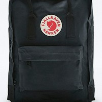 Fjallraven Kanken Classic Black Backpack - Urban Outfitters