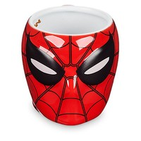 Disney Store Ceramic Marvel Spider-Man Masked Mug Sculptured Coffee New