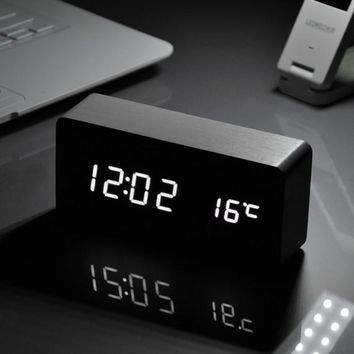 Digital Voice Table Clock