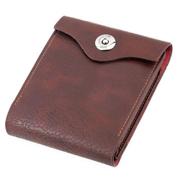 Hot Sale PU Leather Men Wallets Men Hasp Wallet Leather Purse Trifold Wallets For Man Big Capacity Crad Holders Male Coin Pocket