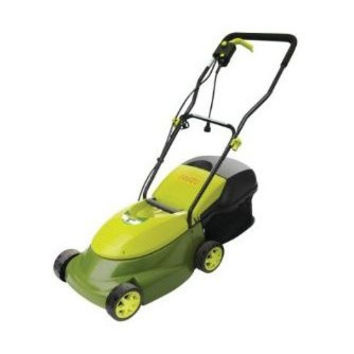 14-inch Mow Joe 12-Amp Electric Lawn Mower with Grass Bag