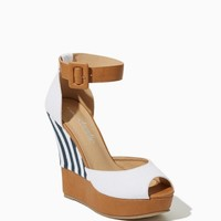 High Tide Bangle Wedges | Shoes – Sandals – Heels – Nautical Chic | charming charlie
