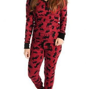 C| Chicloth Women Christmas Family Look Pajamas