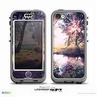The Vivid Colored Forrest Scene Skin for the iPhone 5c nüüd LifeProof Case