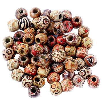 Wood Painting Beads  Arts And Crafts