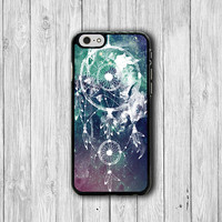 Dreamcatchers White Galaxy Phone Cases, Dream Catchers Wind iPhone 6 Cover,iPhone 6Plus iPhone 5, iPhone 4S Hard Case, Rubber Deco Boss Gift