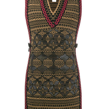 Fendi Embroidered Knitted Vest - Farfetch