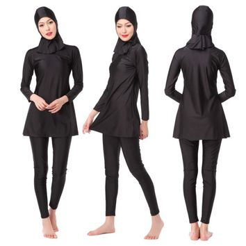 Muslim Ladies' Full Coverage Modest Swimwear Muslim Swimwear Islamic Swimsuit Muslim Hijab Swimsuits Muslim Bathing Suits