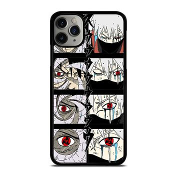 OABITO AND KAKASHI SHARINGAN S iPhone Case Cover