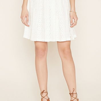 Contemporary Lace Skirt   Forever 21 - 2000185319