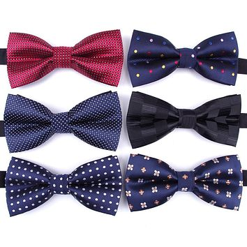 ASSORTED Men's Classic Bow Ties for Formal and Business Casual Suits