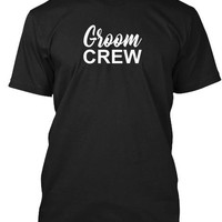 Groom Crew   Wedding T Shirt