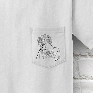 "Matty ""Matthew"" Healy Pocket T-Shirt"