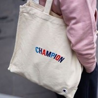 Champion Canvas Shopping Shoulder Bag
