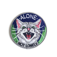 Alone, Not Lonely Iron-On Patch