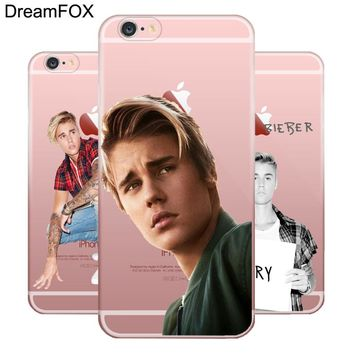 L061 Justin Bieber Soft TPU Silicone  Case Cover For Apple iPhone X 8 7 6 6S Plus 5 5S SE 5C 4 4S
