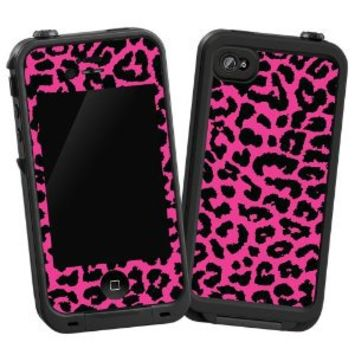 "Pink Leopard ""Protective Decal Skin"" for LifeProof iPhone 4/4s Case"