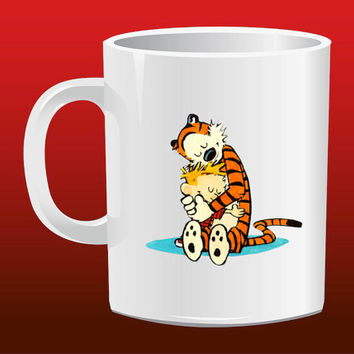 Calvin and Hobbes Hug for Mug Design