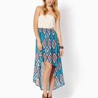 Artsy Aztec High-low Dress | Fashion Apparel - Rodeo | charming charlie