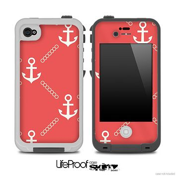 Vintage Anchor V2 Skin for the iPhone 5 or 4/4s LifeProof Case