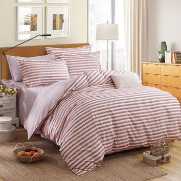 Dream NS 4Pcs Bohemian Bedding Set Soft Polyester Bed Linen Duvet Cover Pillowcases Bed Sheet Sets Home Textile Queen Coverlets