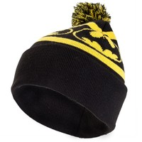 Batman - Repeat Logo Pom Pom Knit Hat