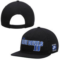 Duke Blue Devils Nike Pro Snapback Adjustable Hat – Black