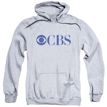 Cbs Logo Adult Pull Over Hoodie