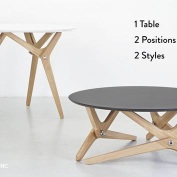 BOULON BLANC - The next generation of transformable tables