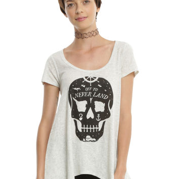 Disney Peter Pan Neverland Skull Girls T-Shirt