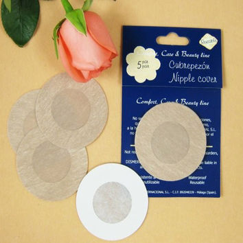 10Pairs Adhesive Bra Pasties Underwear Nipple Covers Pads Women Breast Enlargement Brassiere Sticker  Invisible Breast Stickers