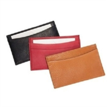 Slim Design Card Case-Traditional Leather